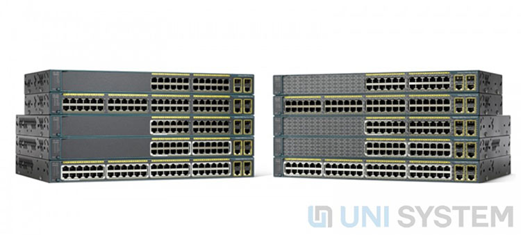 Switch Cisco Catalyst C2960 Plus chính hãng